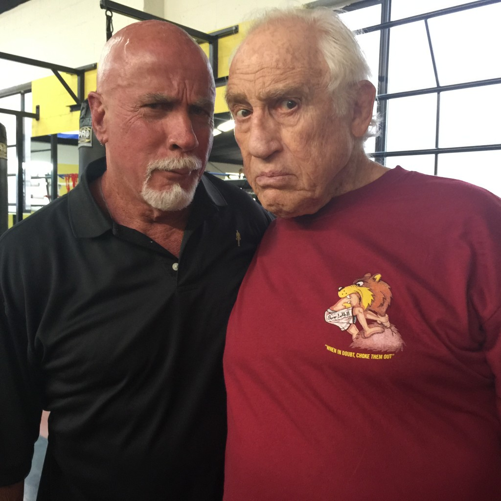 Ric Drasin and Gene LeBell