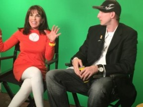 Actress Kate Linder guests on The EZ Show
