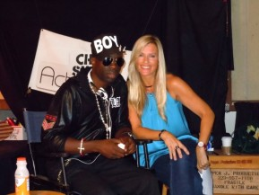 Sam Sarpong with Brenda Epperson on ActorsE Chat