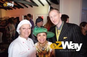 Chef Anina, Munni Irone, and Eric Zuley