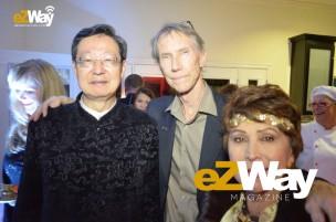 Robert Sun, James Zuley, and Lucia de Garcia