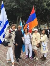 Rosalyn Kahn, Ike M.I. Khamisani, Effie Micheals. Olga Nabokina, and Jacky Melikian