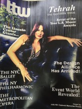 Tehrah on cover of TTW