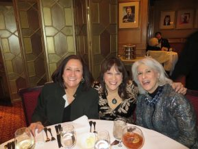 George's sponsors Nancy Lombardo and Fran Capo with Jamie DeRoy