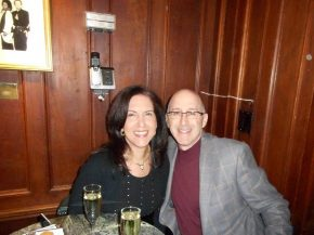 Lizette Bettinger with Scott Glickman