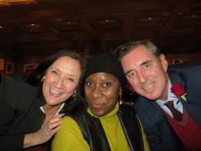 Nancy Lombardo, Rhonda Hansome and Thomas Newell